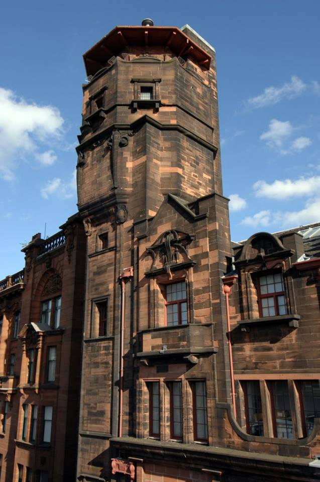 Glasgow Herald Building mit Lighthouse