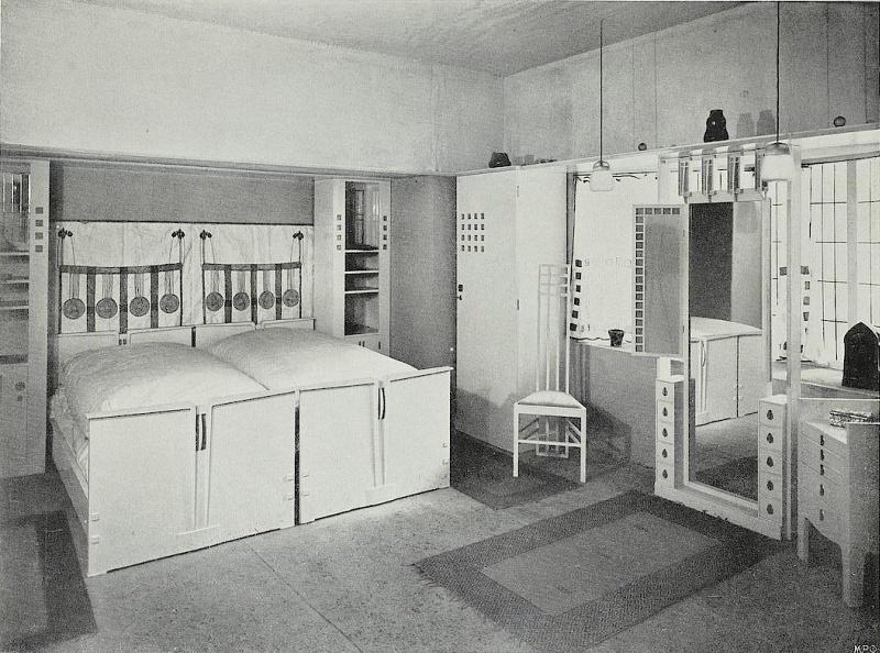 Dresdener Werkstätten Karl Schmidt Hellerau Schlafzimmer