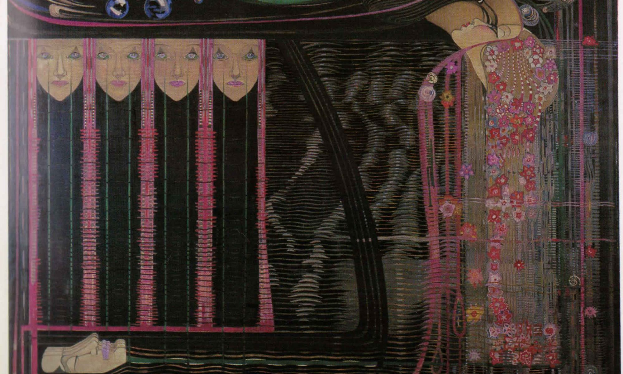 Opera of the Seas von Charles Rennie Mackintosh und Margaret Macdonald