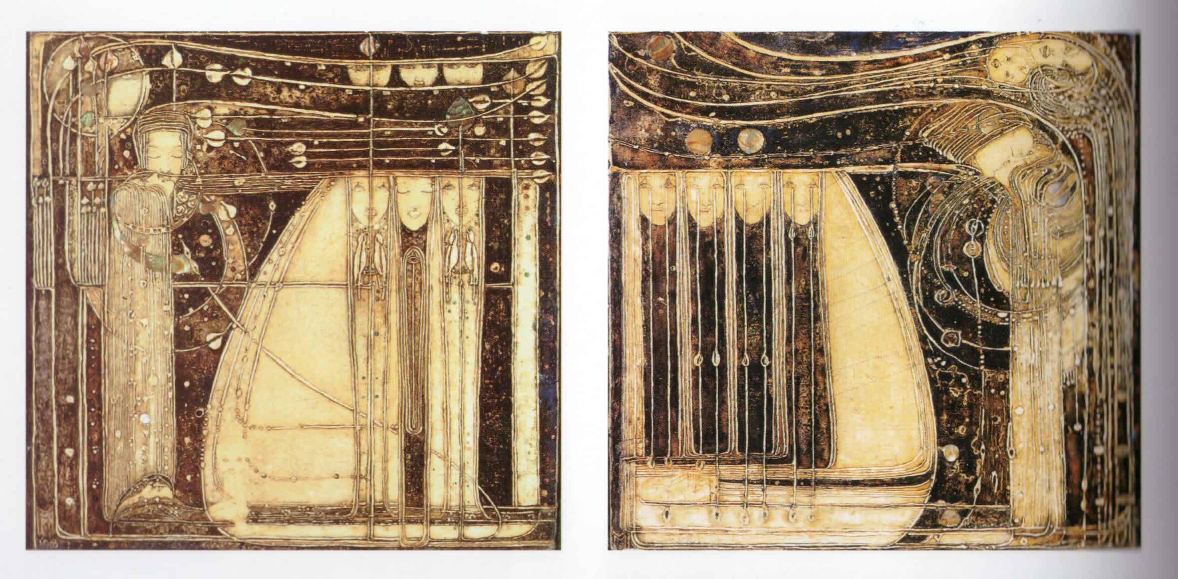 Gessos von Margaret Macdonald